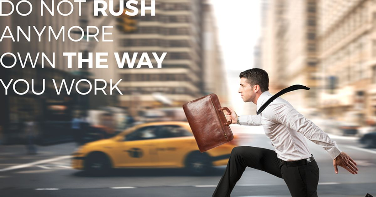 Own The Way You Work