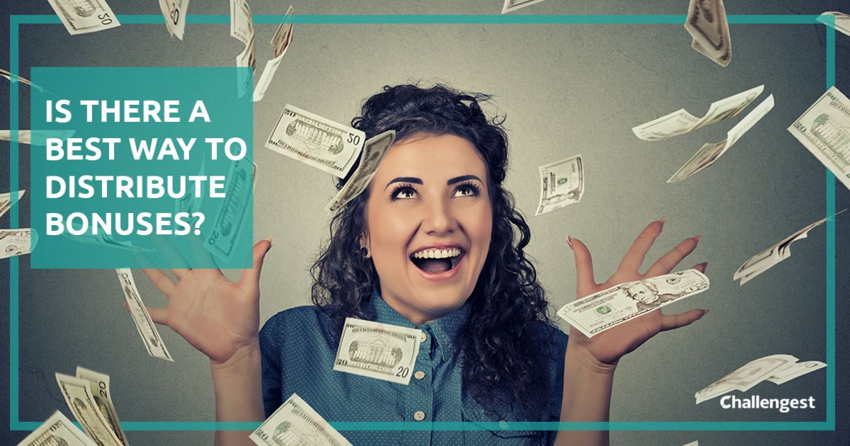 Manager's challenge: How would you distribute bonuses to your team members?