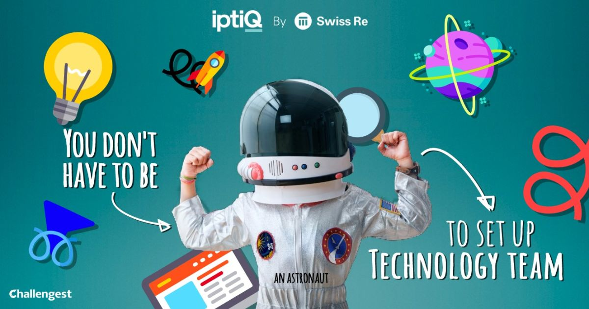 Help Swiss Re with setting up their 'iptiQ Technology team
