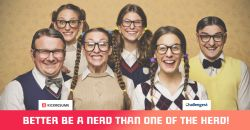 """""""Better be a nerd than one of the herd!"""""""