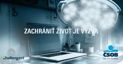 Navrhni komunikačnú kampaň k projektu ČSOB nadácie – Jednoduchá banková operácia môže zachrániť život