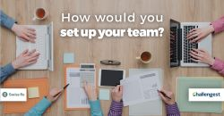 Manager's challenge: How would you set up your team?