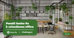 Pomôž Swiss Re Bratislava spraviť náš office zelenší